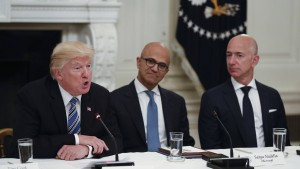 Trump spottet über Jeff Bezos