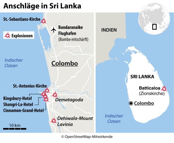 Sri Lanka Karte Zum Drucken.Bilderstrecke Zu Nach Dem Anschlag Von Sri Lanka Trauern Die
