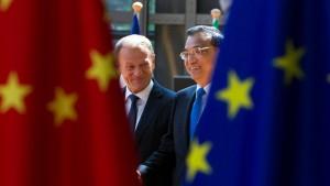 China will mit Europa Allianz gegen Amerika
