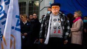 """""""Die Menschen, die heute den Staat führen, sind ein großes Unglück für Polen"""""""