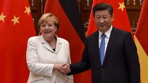 China will Schulterschluss mit Deutschland