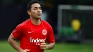"""""""Man sieht ihm an, dass er nicht ganz glücklich ist"""": Marco Fabián ist nur eingeschränkt belastbar."""