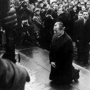 Prägend für Gernot Erler: Willy Brandts Kniefall in Warschau im Dezember 1970