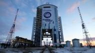 Fast an der Grenze zu China: Russland will mit einem eigenen Weltraumbahnhof von Kasachstan unabhängig werden.