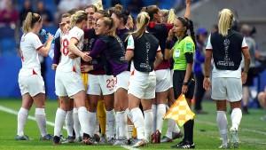 Englands Frauen als erstes Team im WM-Halbfinale