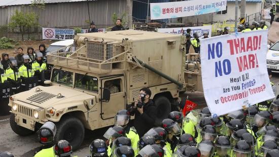 Amerikas Raketenabwehr in Südkorea in wenigen Tagen einsatzbereit