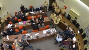 Im Gerichtssaal Zschäpe