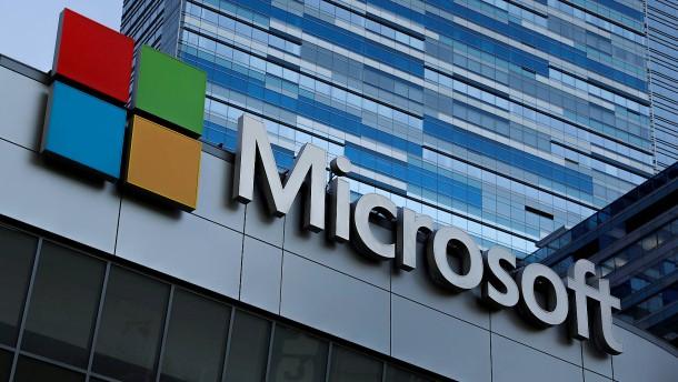 Deutlicher Gewinnsprung bei Microsoft befriedigt Anleger nicht