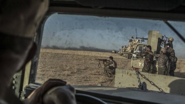 Irakische Einheiten wollen IS-Versorgungswege abschneiden