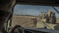 Im Südosten Mossuls: kurdische Peschmerga-Kämpfer