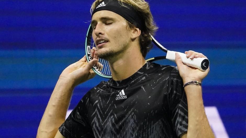 Alexander Zverev verlor nach hartem Kampf das Spiel gegen Novak Djokovic.