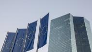 Leben in Europa und Hessen: Ansicht der Europäischen Zentralbank in Frankfurt.