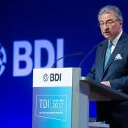 BDI-Präsident Dieter Kempf beim Tag der Deutschen Industrie Mitte Juni in Berlin: Kempf drängt die Parteien in Berlin, zügig eine Regierung zu bilden.