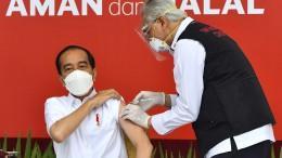 Indonesien startet Massenimpfungen