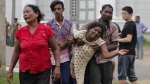 Sri Lanka im Schockzustand