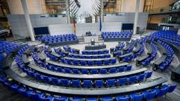 Opposition fordert kleineren Bundestag