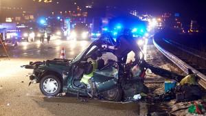 A3 nach schwerem Unfall wieder frei