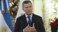 Der Schwung läßt nach: Argentiniens neuer Präsident Mauricio Macri.