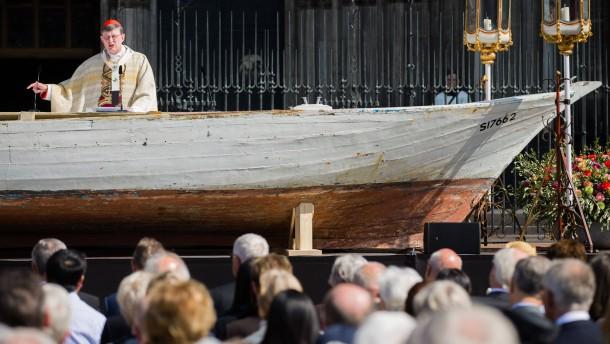 """""""Wer Menschen im Mittelmeer ertrinken lässt, lässt Gott ertrinken"""""""