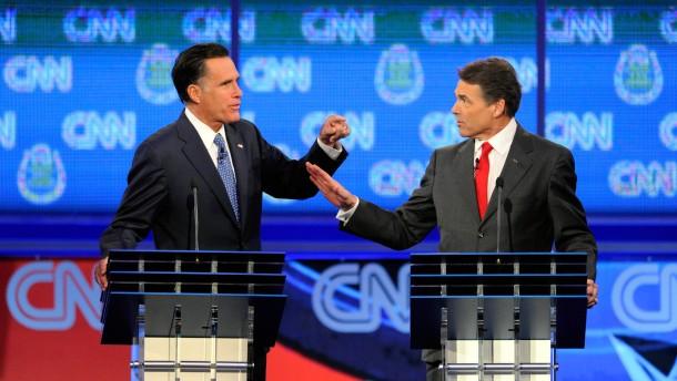 Republikaner geraten in Fernsehdebatte aneinander