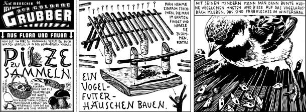 Comic / Kat Menschik Der goldene Grubber / 016