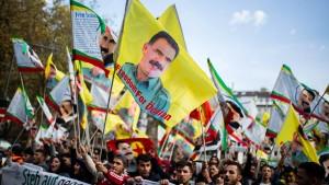 Zusammenstöße bei Kurden-Demonstration
