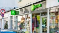 Sehr günstige Verkäufer: Oxfam-Laden im Frankfurter Nordend