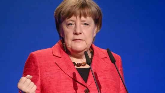 Merkel und Gabriel begrüßen Wahlausgang in den Niederlanden