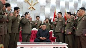 """Nordkorea hat """"wahrscheinlich sehr kleine Nuklearwaffen"""" entwickelt"""