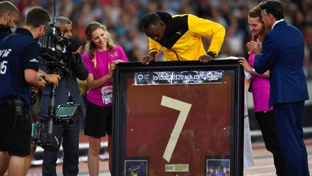 Bewegender Abschied von Usain Bolt