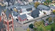 Ein Hingucker: Der neu erbaute Dienst- und Wohnsitz des Bischofs Tebartz-van Elst