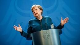 """Merkel ruft Bevölkerung zu """"Verzicht und Opfern"""" auf"""