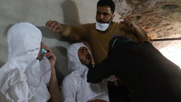 EU-Beauftragte macht Assad für Giftgaseinsatz verantwortlich