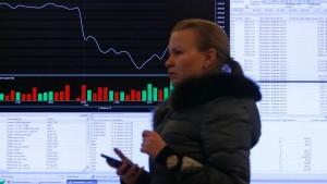 Ukraine-Krise erfasst russische Anleihen