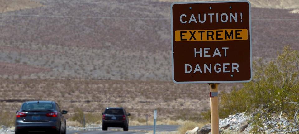Hitzerekord Im Death Valley