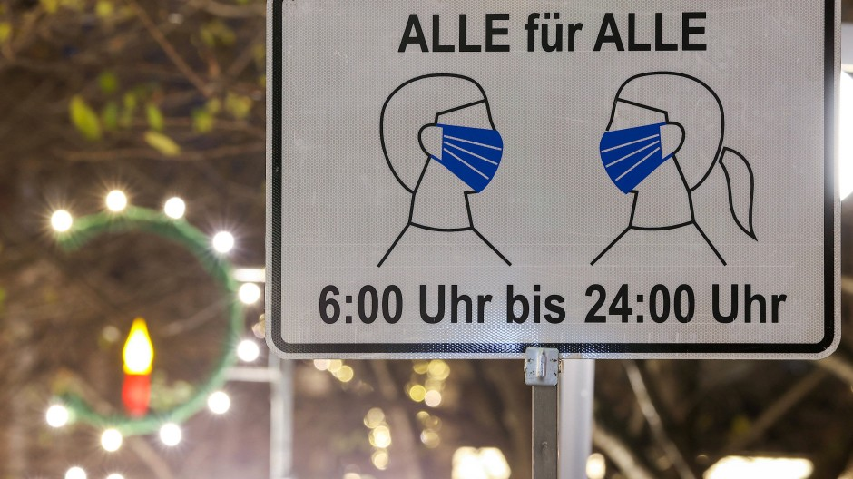 Was spricht für eine Maskenpflicht auf öffentlichen Plätzen? Eine Studie liefert neue Gründe.