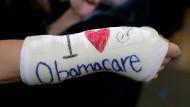 Nicht alle Amerikaner lieben Obamacare.