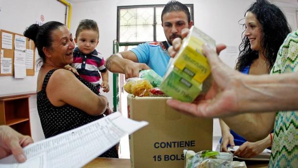 Spanischer Milliardär spendet für die Armen