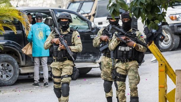 Vier Leibwächter des ermordeten Präsidenten festgenommen