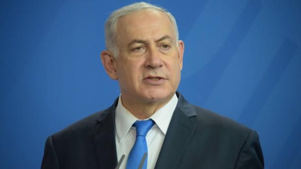 Israels Geheimdienst: Anschlag auf Netanjahu verhindert