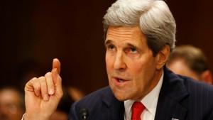 Kerry: Moskau stiftet Chaos