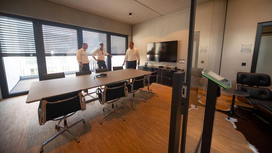Die Bad Nauheimer Classic-Garage bietet auch Coworking-Zonen an.