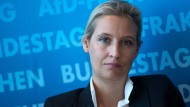 Alice Weidel lehnt einen Rücktritt wegen der illegalen Spenden ab.