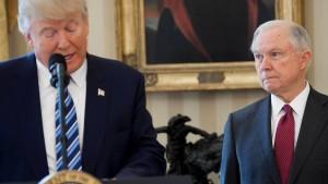 Trump setzt Demontage seines Justizministers fort