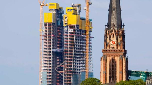 IG Bau: Kontrolle auf EZB-Baustelle wird behindert