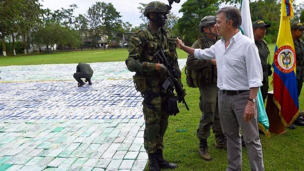 Zwölf Tonnen Kokain beschlagnahmt