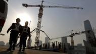 Ökonomen rechnen für China nur noch mit einer Wachstumsrate von etwa 7 Prozent. Im vergangenen Jahr lag die offizielle Wachstumsrate noch bei 7,4 Prozent.