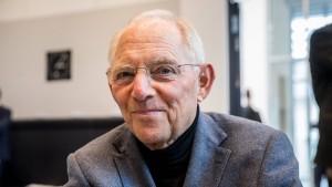 Schäuble hält Streit über Obergrenze für überflüssig