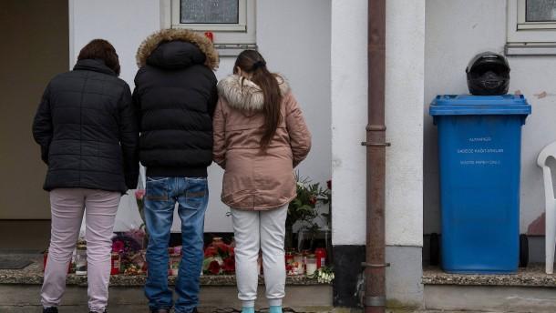 Trauermarsch für getötete Studentin