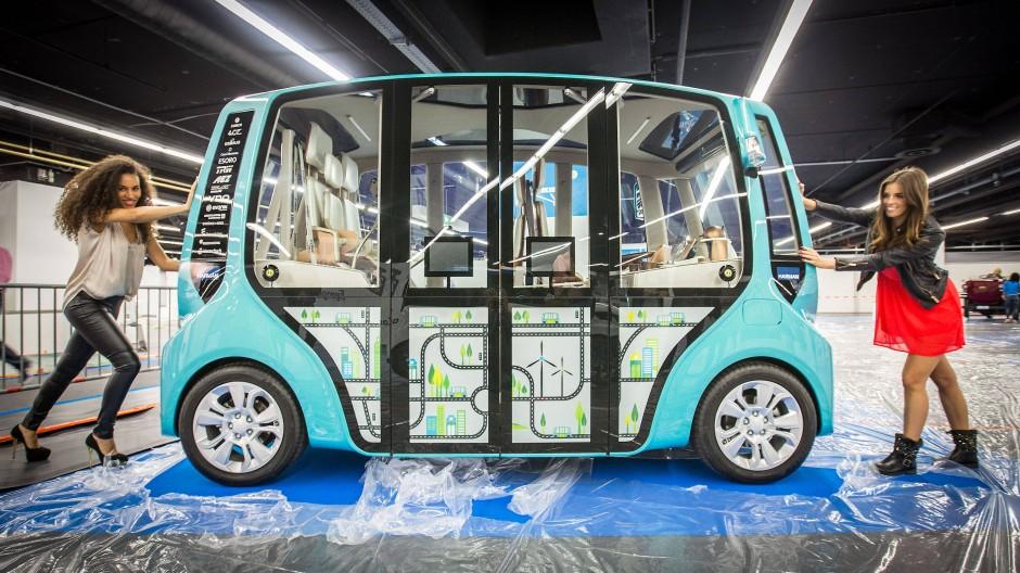 Anschub: Schon 2014 befasste sich die Automechanika mit neuen Mobilitätsmodellen.